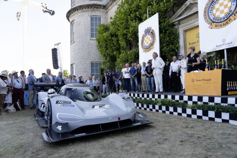 Le VW ID.R de retour à Goodwood