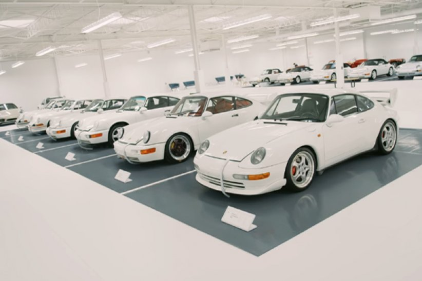 Porsche : The White Collection
