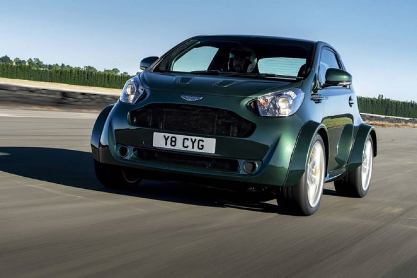 One-off Aston Martin V8 Cygnet