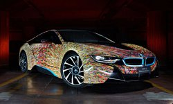 BMW i8 par Garage Italia Customs
