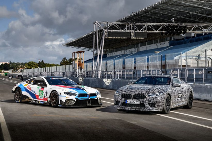 La BMW M8 Coupé en production en 2019