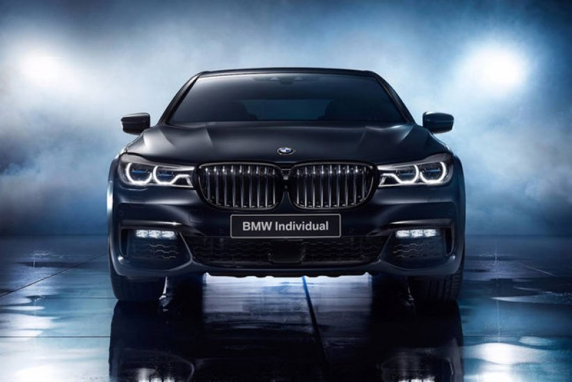 BMW Série 7 Black Ice Edition