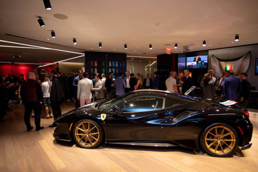 Ferrari: un tailor Made Center à NY