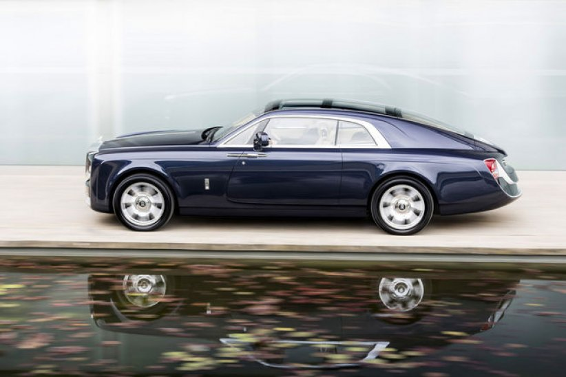 Rolls-Royce Sweptail : unique