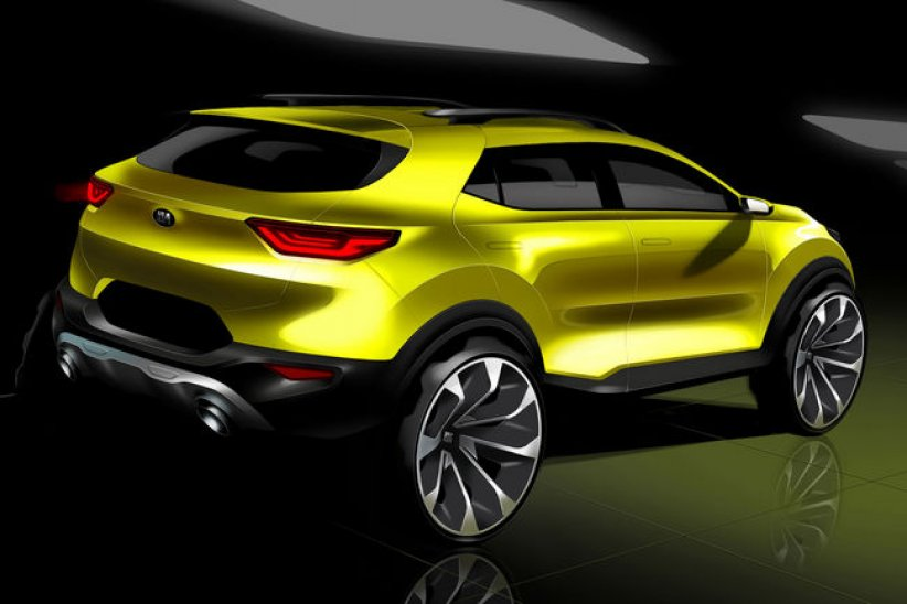 Kia dévoile son Crossover Stonic