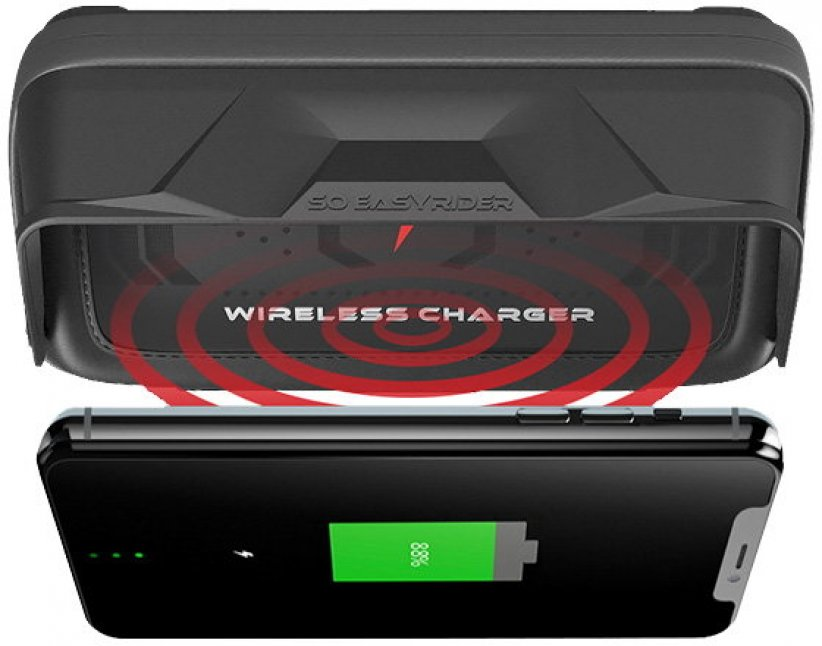 Support avec chargeur à induction So Easy Rider Qi Wireless