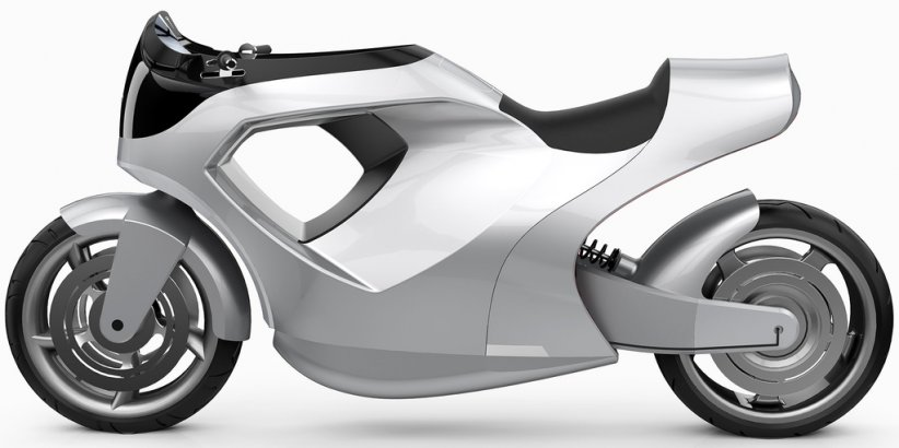 Tesla Model M, concept de moto électrique par James Gawley