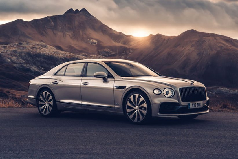 Bentley Flying Spur : finition Diamond Knurling