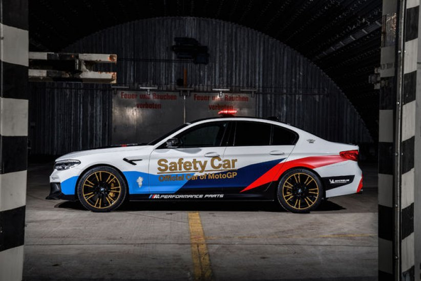 BMW M5 MotoGP Safety-Car