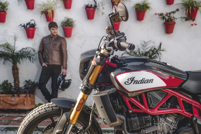 Nouvelle Indian FTR 1200 Carbon