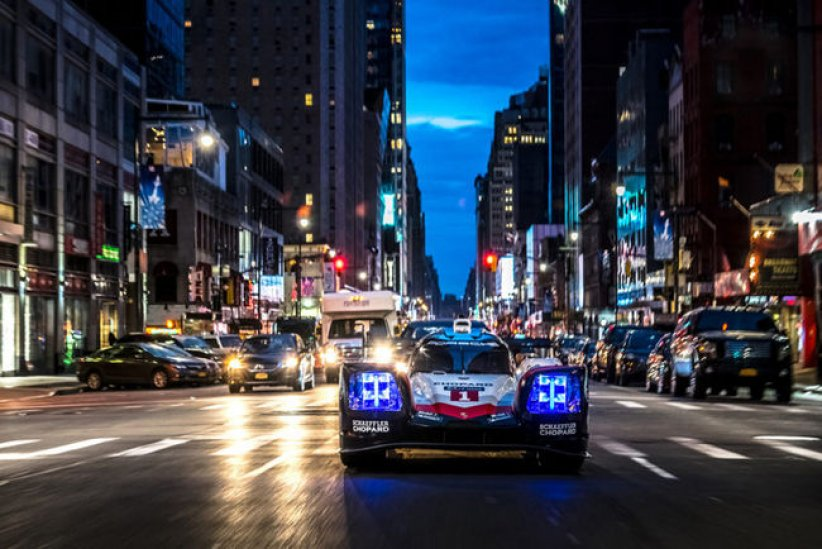 Le Porsche 919 tribute tour à New-York