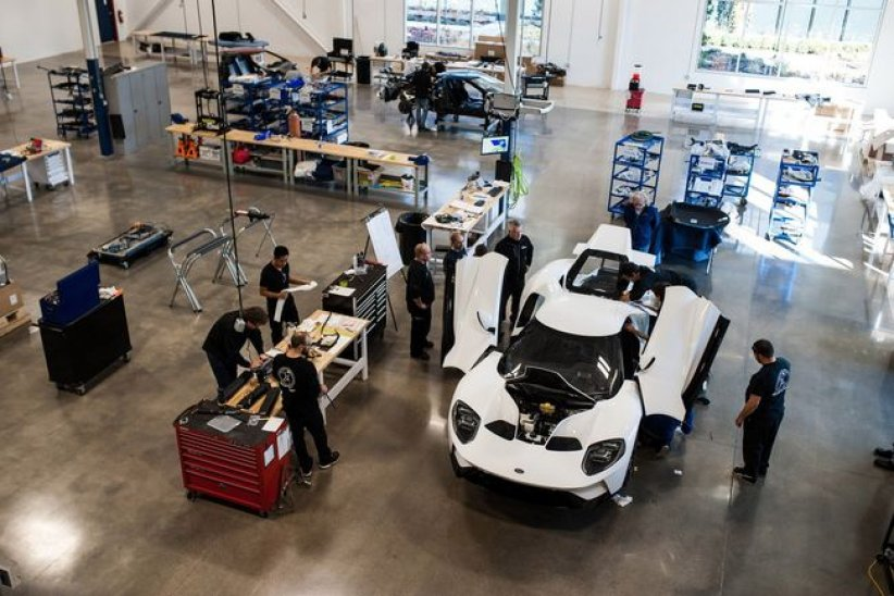 La production de la Ford GT étendue