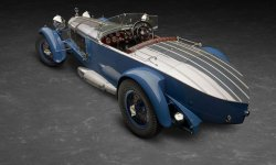 Mercedes S Barker Boat Tail 1929