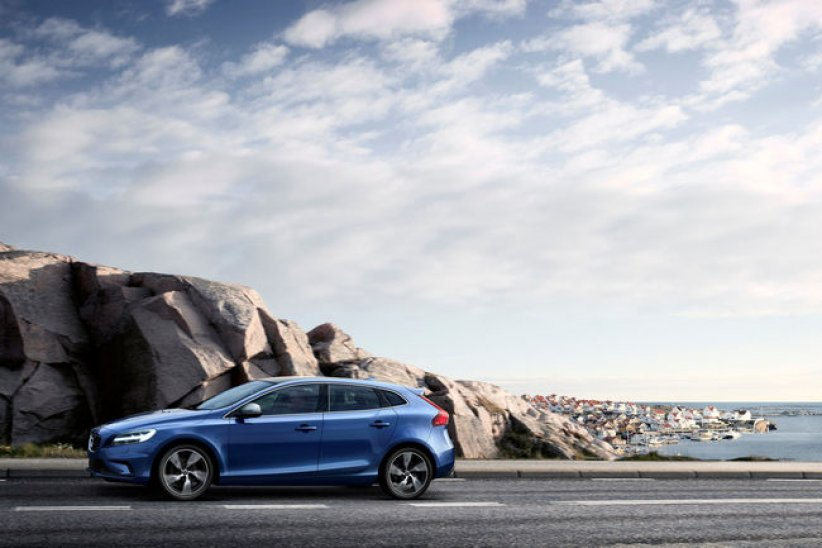 Restylage pour la gamme Volvo V40