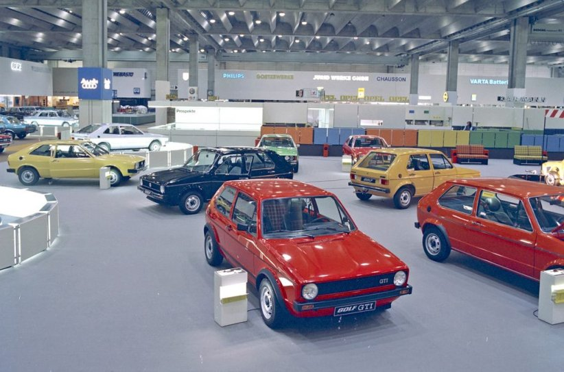 La Golf GTI au salon de Francfort (septembre 1975)