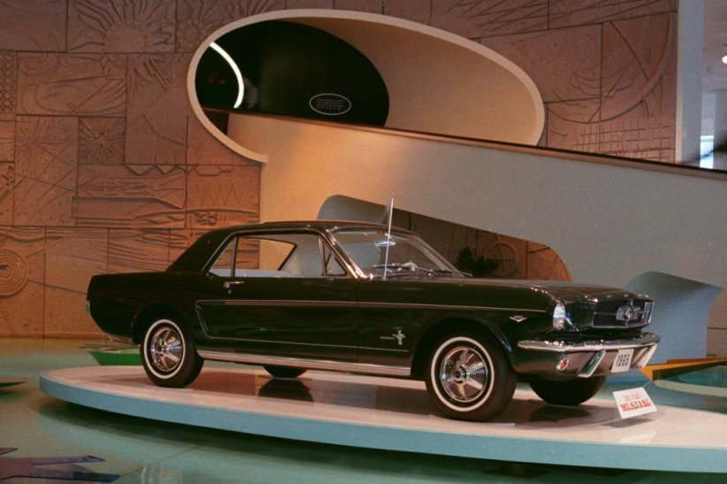 Ford Mustang à la World's Fair (1964)
