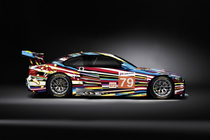 BMW M3 GT2 Jeff Koons, 2010
