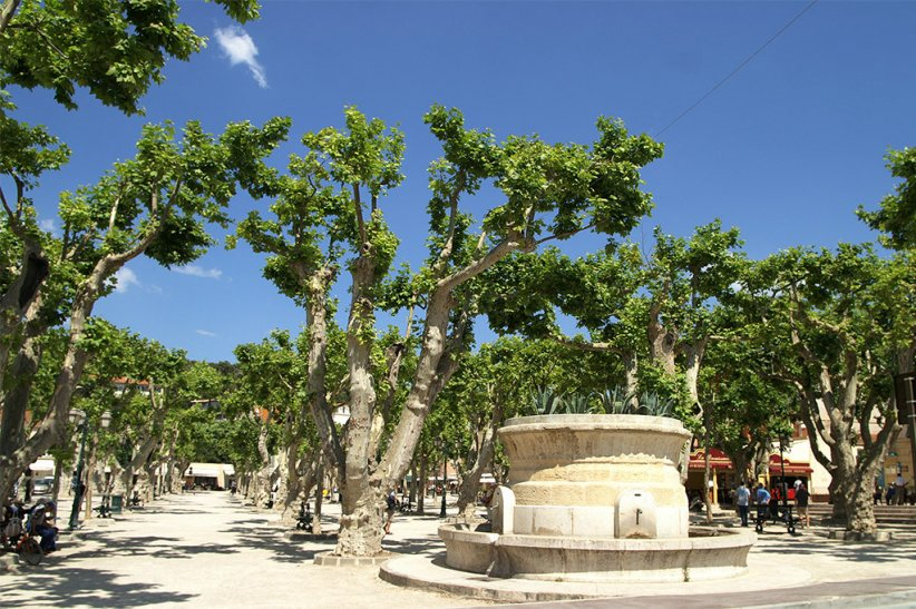 La Place des Lices, Saint-Tropez