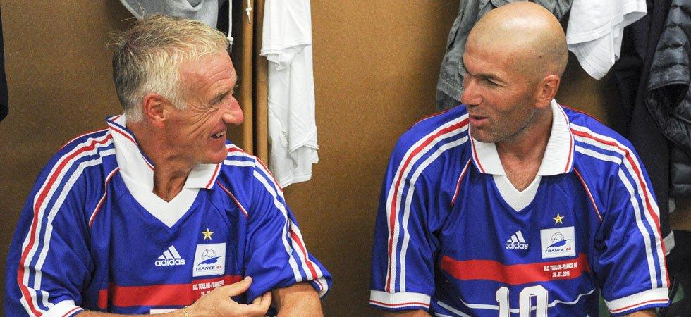 Football: Zidane et Deschamps élus meilleur entraineur et meilleur sélectionneur