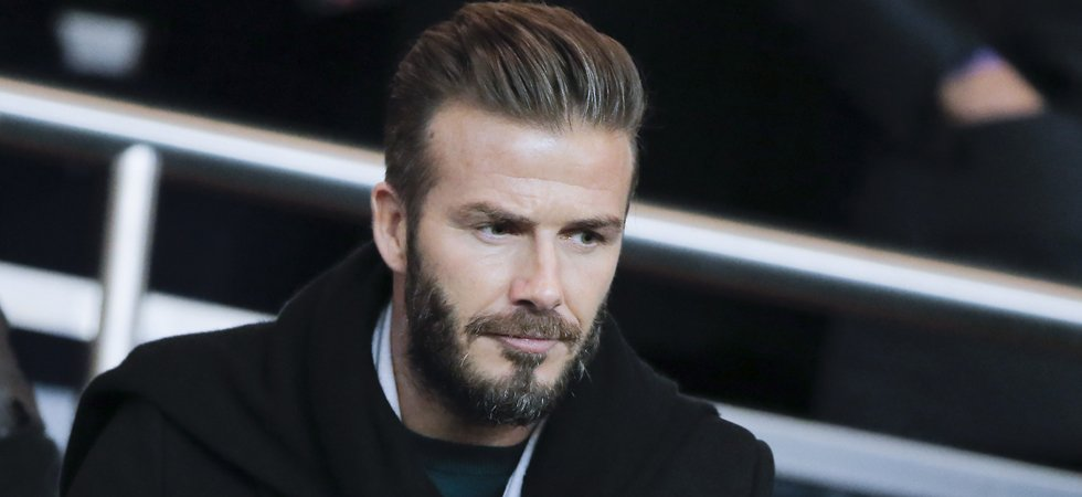 Violent clash entre David Beckham et un ancien patron de F1
