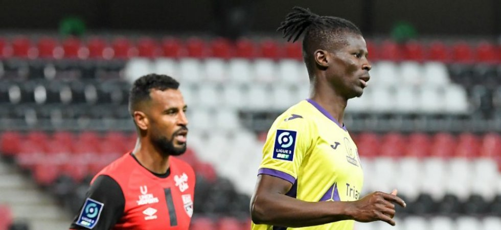 Ligue 2 : Guingamp et Toulouse partagent les points