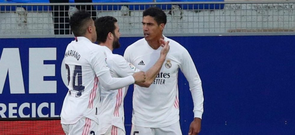 "Real Madrid : Zidane ""content pour Varane"""