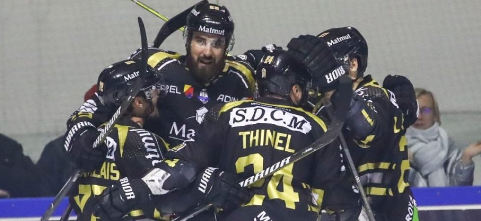 Ligue Magnus (J4 et J6) : Rouen à un point du titre de champion de France