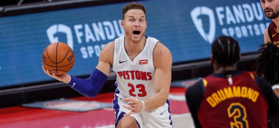 NBA : Griffin renforce l'armada des Nets, Drummond vers les Lakers ?