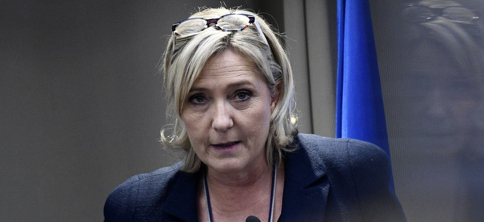 Marine Le Pen en visite à la Trump Tower