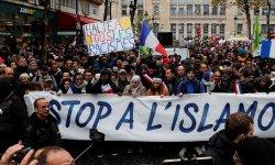 Marche contre l'islamophobie : le cortège s'est élancé de la Gare du Nord à Paris