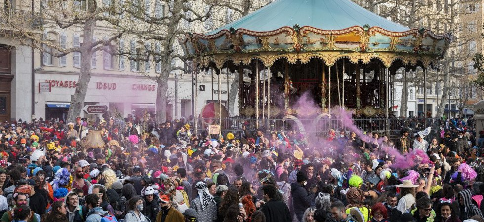 Marseille : 7 interpellations en marge du carnaval sauvage