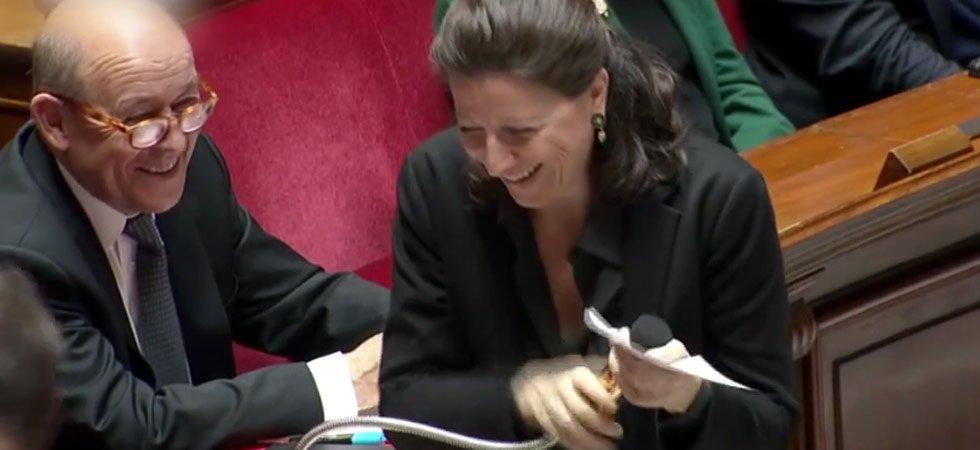 de5dfdcb92e819 Un lapsus d Agnès Buzyn provoque un énorme fou rire à l Assemblée