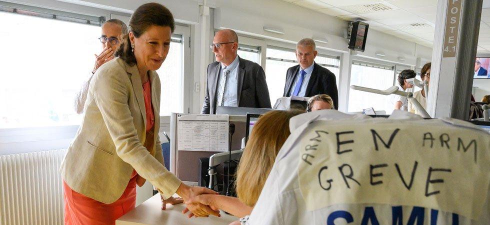Urgences : Agnès Buzyn exfiltrée d'un hôpital face à la grogne du personnel à la Rochelle