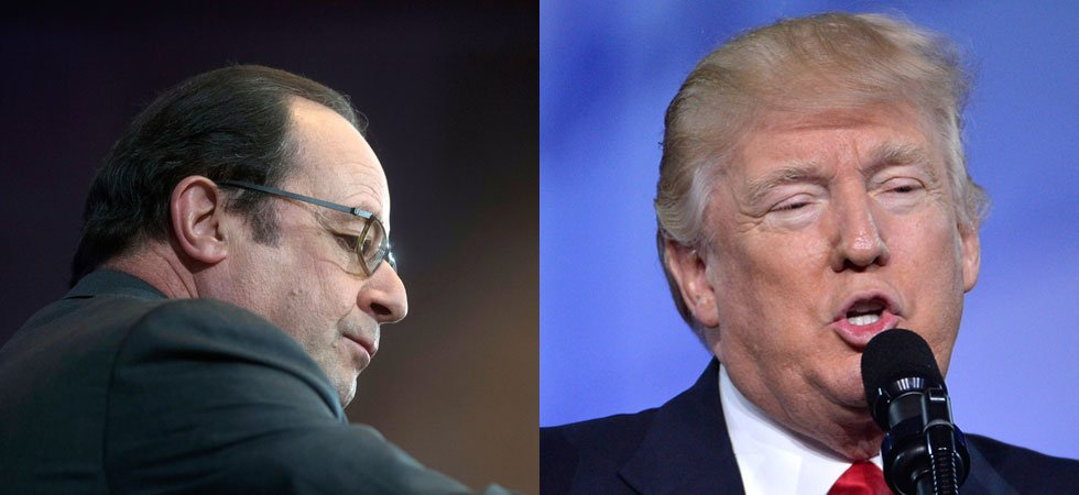 "Trump dit que ""Paris n'est plus Paris"", Hollande le met en garde"