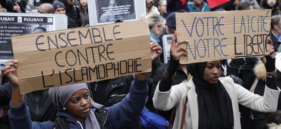 Marche contre l'islamophobie : réactions indignées à la présence d'un groupe de manifestants portant une étoile jaune