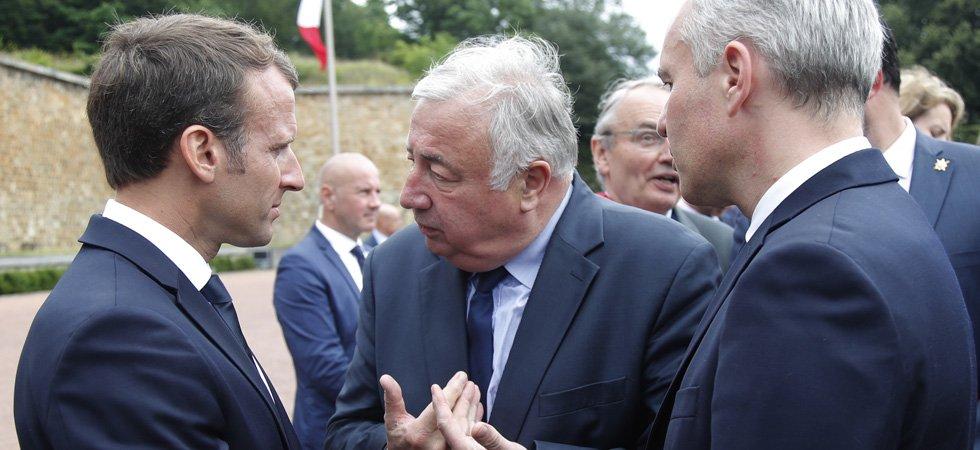 VIDÉO. Commission d'enquête sur l'affaire Benalla : le coup de fil de Macron à Larcher