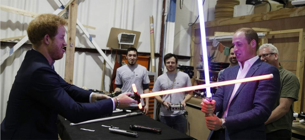 Star Wars : le projet caché des princes William et Harry