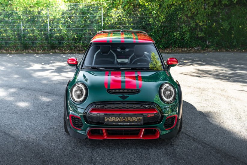 La MINI John Cooper Works GP revue par Manhart