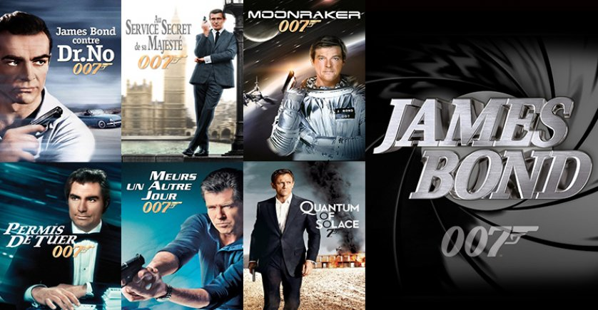 Tout James Bond sur la VOD d'Orange