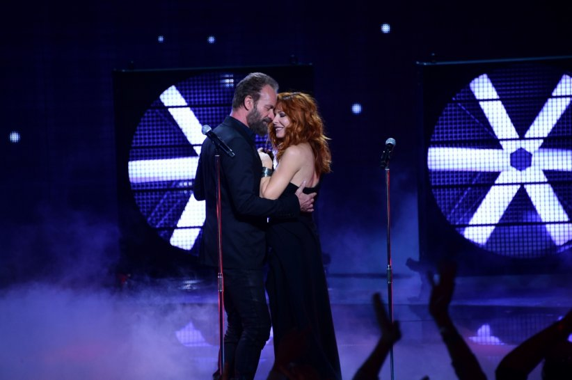 Mylène Farmer et Sting : un duo d'anthologie