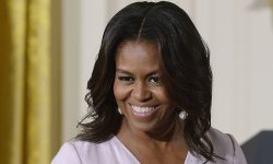 Michelle Obama s'essaye au hip-hop